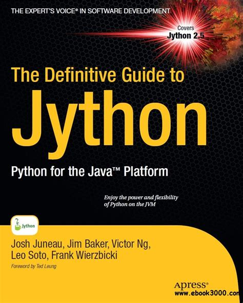 pro javafx 9 a definitive guide to building desktop mobile and embedded java clients books the definitive guide to jython python for the java