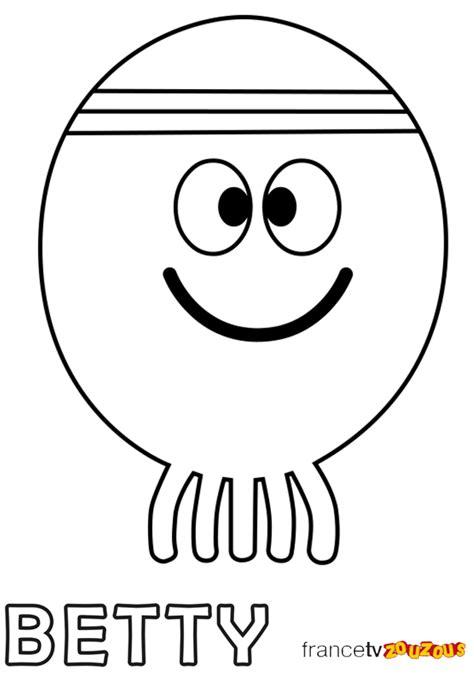 Les coloriages de Hé, Oua-Oua - Zouzous, dessins animés