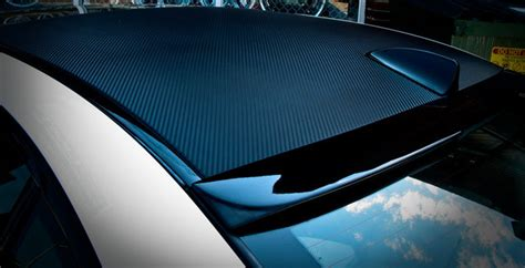 vinyl roof pattern hoja del vinilo de la fibra del carb 243 n 3d pel 237 cula del