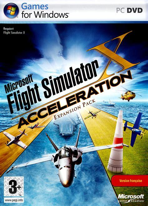 flight simulator  acceleration expansion pack sur pc
