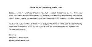 thank you for your service letter 9 free word excel