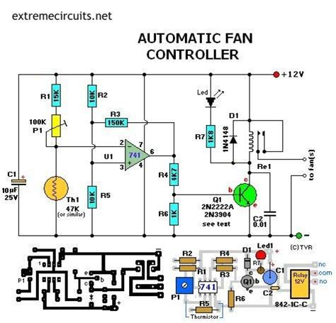 diy electronic projects automatic fan controller electronics pinterest fans