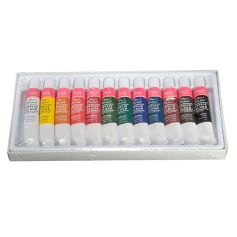 promotion color best price best promotion 12 colors one set 12ml paint