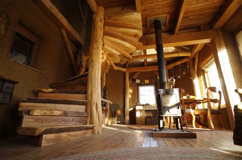 Log Cabin Homes Interior by A Diy Wooden Spiral Staircase Design How We Did It The