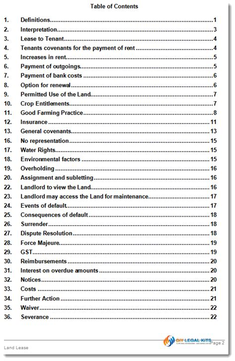lease  agricultural land agreement template