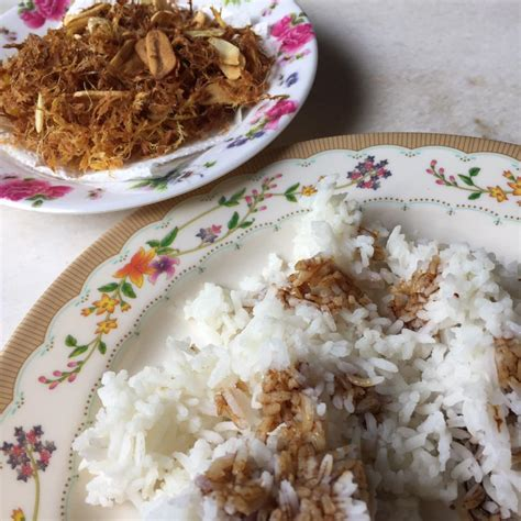 resipi serunding halia bersama bawang putih bagus