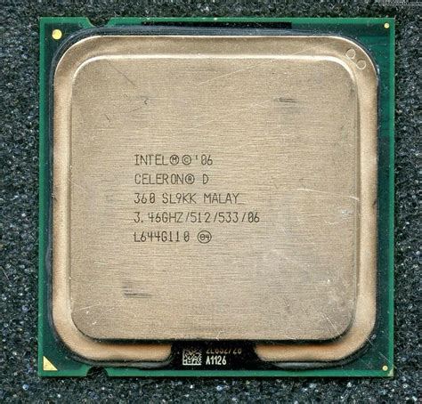 Sockel 775 Prozessor by Intel Celeron D Cpu 360 Processor 3 45ghz 512kb 533mhz Socket 775 Celeron D 360 China Cpu