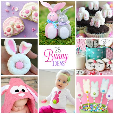 cute rabbit themes 25 cute easter bunny ideas crafts treats more crazy
