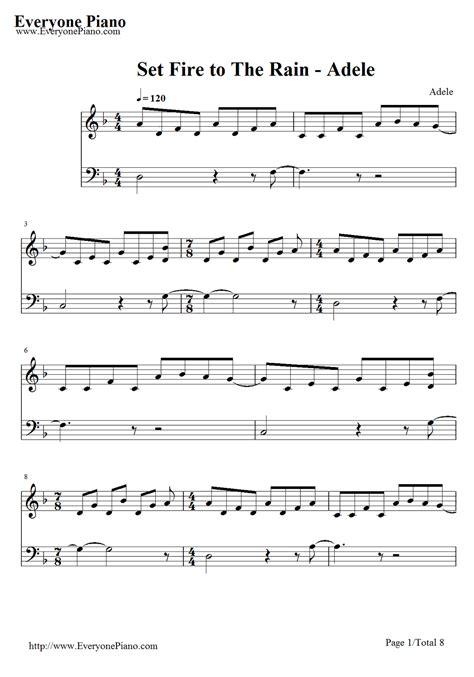 tutorial piano adele set fire to the rain adele set fire to the rain on piano