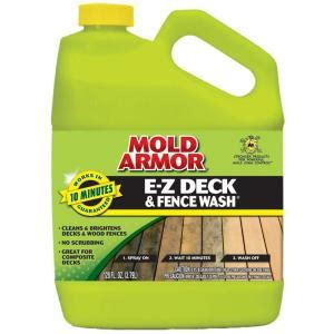 mold armor 1 gal e z deck and fence wash fg505 the home