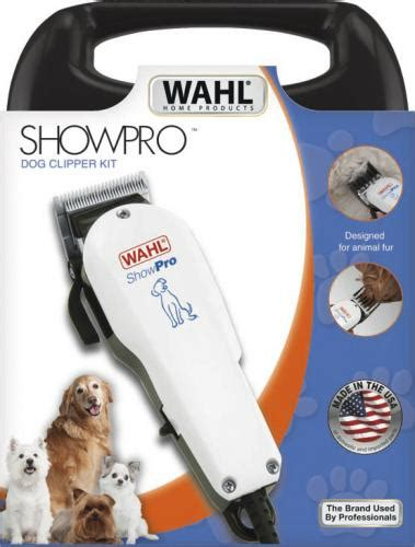 Pet Clipper Wahl Showpro Ori wahl europe home pet grooming corded animal clippers