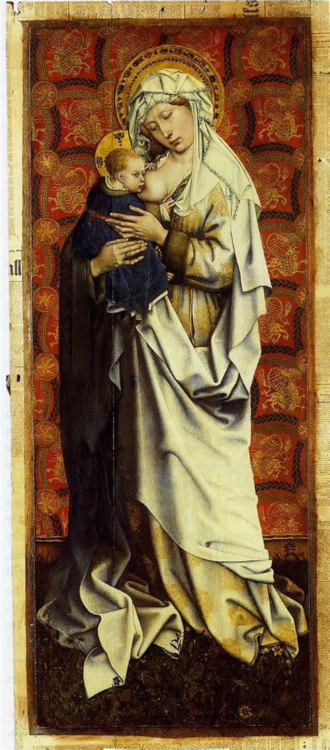 Marriage of the virgin robert campin the annunciation