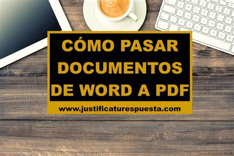 pasar muchas imagenes a pdf c 243 mo pasar documentos de word a pdf gratis