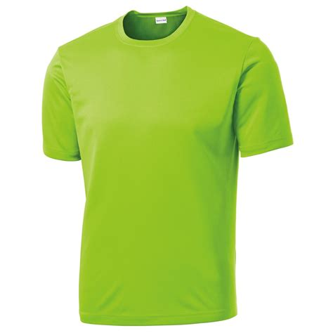 T Shirt Green Ship sport tek st350 competitor lime shock fullsource