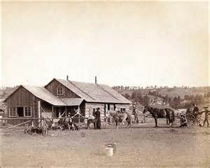 Old Ranch House Old West Western Ranch House 1888 Photo Print For Sale