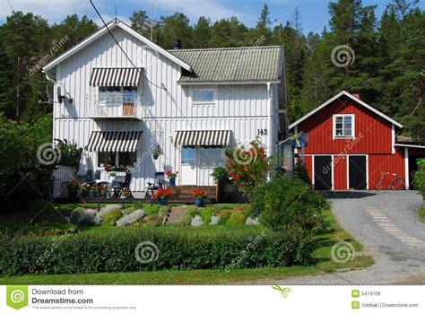 swedish house typical swedish house royalty free stock photos image 5474108