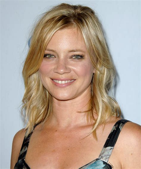 hairstyles smart casual amy smart medium wavy casual hairstyle