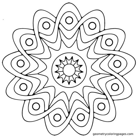 coloring pages easy for adults easy adult coloring pages mandala printable adult