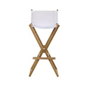 Oak folding bar stool lovethesign