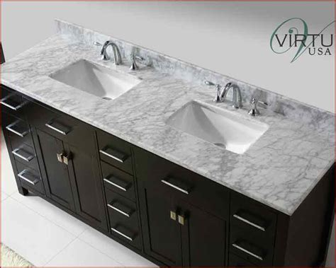 square sink bathroom virtu usa 72 quot square sinks bathroom vanity caroline vu md 2172 wmsq es
