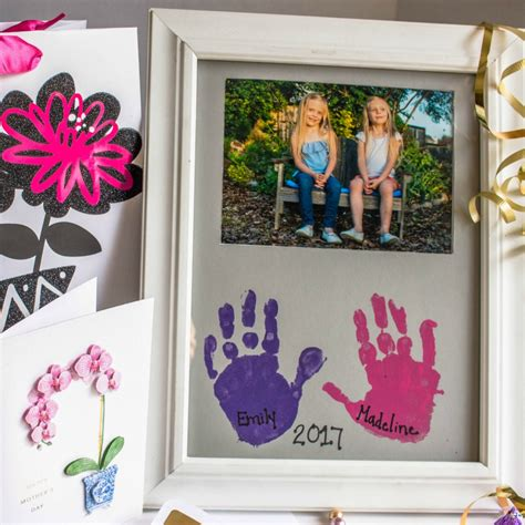 how to build an a frame diy mother earth news diy mother s day gift handprint picture frame simply