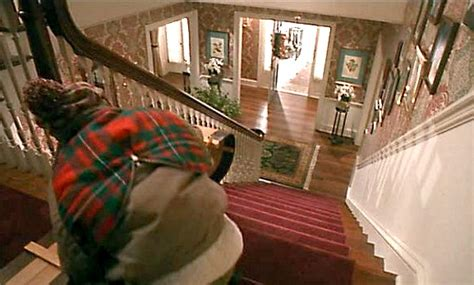 you wanted to sled the stairs like kevin