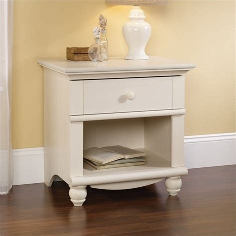 sauder harbor view bedroom set sauder harbor view night stand antique white nightstand ebay