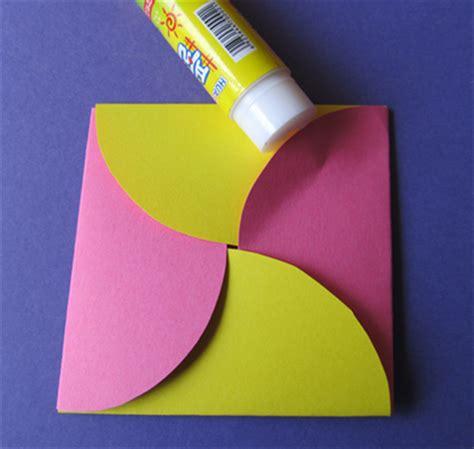 How To Make A Big Envelope Out Of Paper - איך להכין מעטפה יפה מעיגולי נייר בלבד
