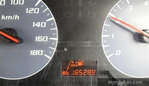 Berapakah Multimeter kos servis meter panel indicator perodua viva