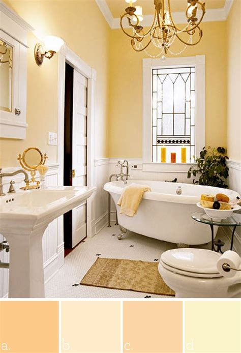Yellow Paint Colors For Bathroom by Best 25 Yellow Paint Colors Ideas On Yellow