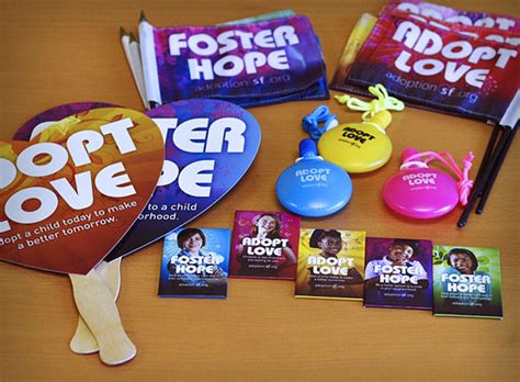 Parade Giveaway Items - adoption sf adopt love foster hope osocio
