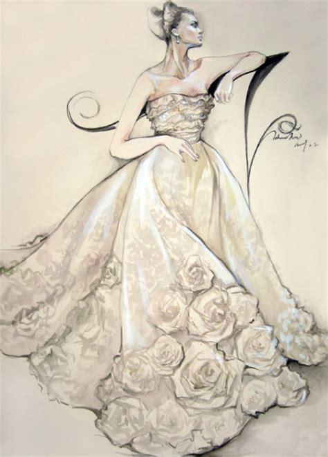 Brautkleider Zeichnen Lernen by Drawing Wedding Veil Wedding Drawing Ideas