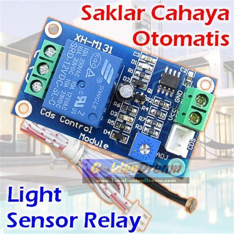 Saklar Otomatis Lu Jalan jual relay cahaya 12v saklar otomatis sensor lu 250v ac