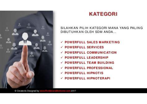 Pelatihan Hipnotis Jabodetabek Profil Pembicara Motivator Indonesia