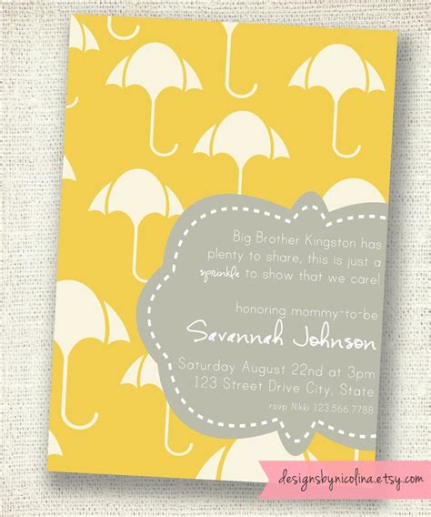 Second Shower by Wording For A Quot Sprinkle Quot Invite On