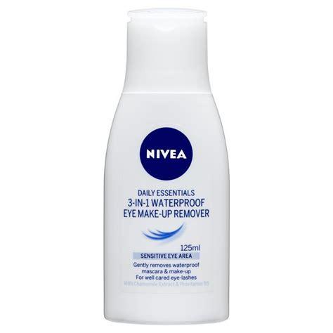Makeup Remover Nivea nivea visage 3 in 1 waterproof makeup remover 125ml chemist warehouse