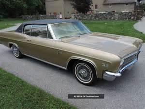 1966 chevrolet caprice coupe 396