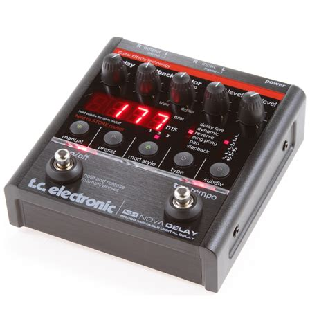Tc Electronic Delay tc electronic nd 1 delay guitar pedal 5706622008398