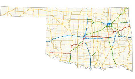 oklahoma map usa file us 62 oklahoma map png