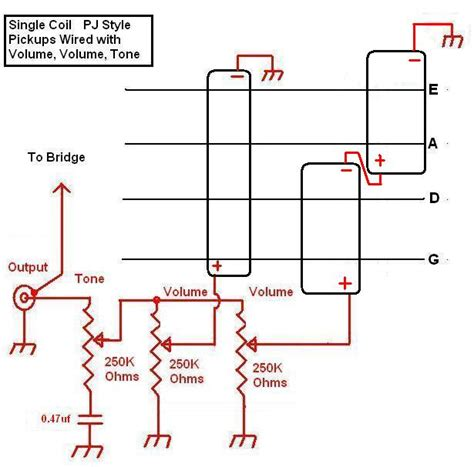 astonishing pj bass wiring diagram contemporary best