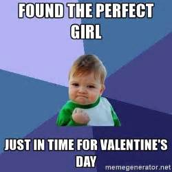 Perfection Girl Meme - found the perfect girl just in time for valentine s day