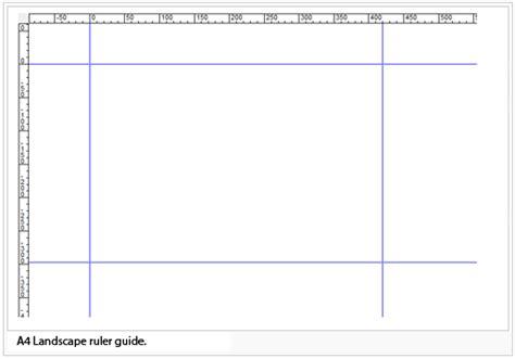printable ruler guide ruler guides ocad 11 wiki english