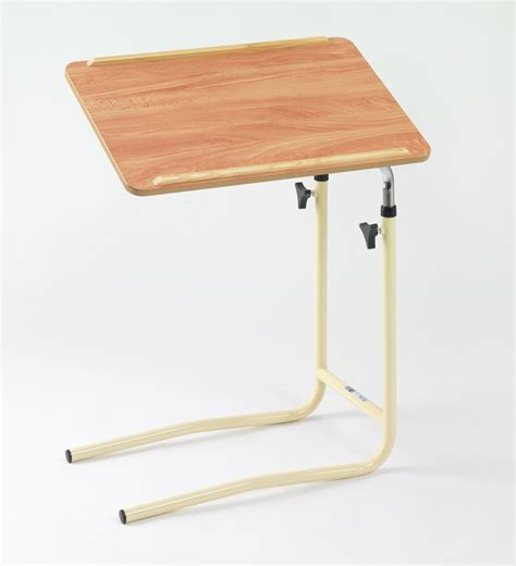 table l l shaped overbed table mobility solutions