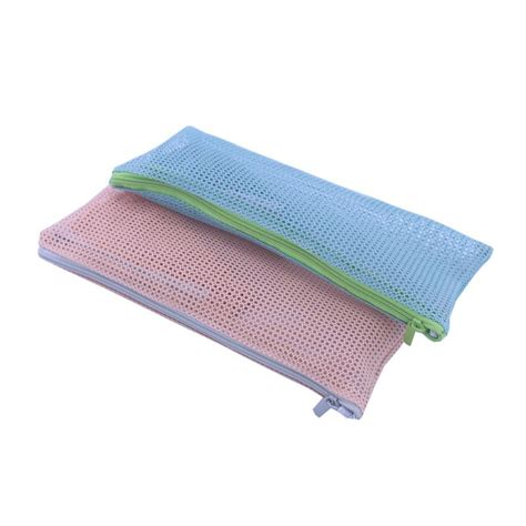 Mesh Make Up Pouch travel mesh zipper toiletry cosmetic makeup bag