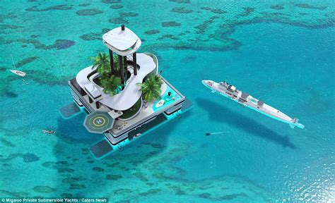 Mega Mansion Floor Plans by Migaloo Private Submersible Yachts Have Come Up With A