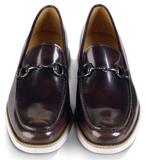 lunargrand loafer cole haan lunargrand venetian bit loafer chestnut