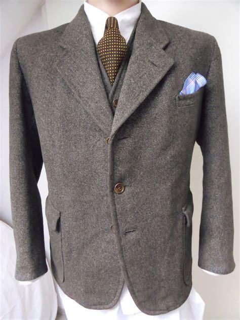 Swing Anzug by Details About Orig 1930 S German Suit Tweed Jacket