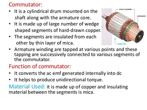 function of brushes in dc motor electric motor brushes function