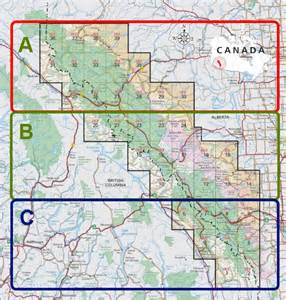 rockies canada map topo maps for canadian rockies canada s source
