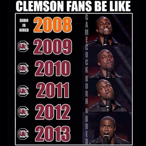 Clemson Memes - clemson south carolina twitter trash talk
